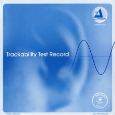 Clearaudio Trackability Test Record LP