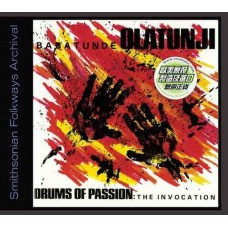 Babatunde Olatunji Drums of Passion The Invocation CD