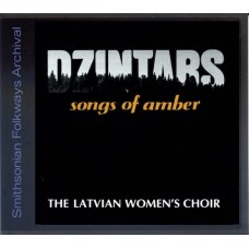 Dzintars The Latvian Women's Choir Songs of Amber CD