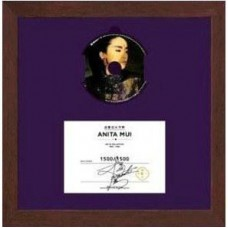 Anita Mui 梅艷芳 十年 Ten Years Anita Collection 1985-1989 珍藏木製掛牆 24K 7-CD Boxset 限量版