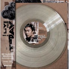 Eason Chan 陳奕迅 Live For Today 彩膠 LP