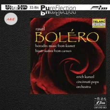 Erich Kunzel Ravel Bolero Bizet Suites from Carmen UltraHD CD