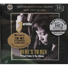 Jacintha Here's To Ben A Vocal Tribute To Ben Webster UHQ MQA CD