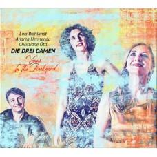 Lisa Wahlandt Die Drei Damen Venus In the Backyard CD