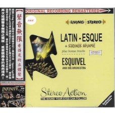 Latin Esque + Strings Aflame CD