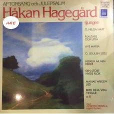 Hakan Hagegard Aftonsang Och Julepsalm LP