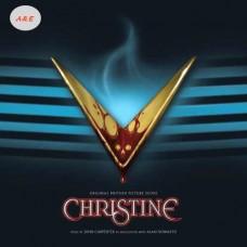 John Carpenter Christine Soundtrack LP Blue Vinyl