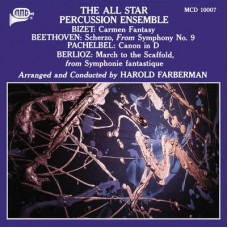 Harold Farberman The All Star Percussion Ensemble CD
