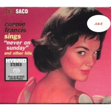 Connie Francis Sings Never On Sunday and Other Hits SACD