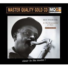 Ben Webster At the Renaissance & More MQG Master Quality Gold CD