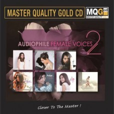 Audiophile Female Voice 2 MQG Master Quality Gold CD
