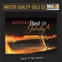 Audiophile Best of Yesterday 4 MQG Master Quality Gold CD
