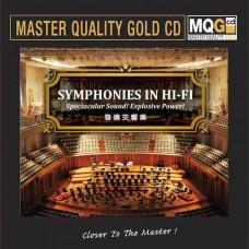 Symphonies in Hi-Fi MQG Master Quality Gold CD