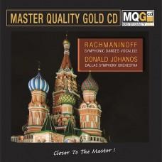 Rachmaninoff Symphonic Dances Vocalise Donald Johanos Dallas Symphony Orchestra MQG Master Quality Gold CD