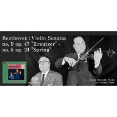 Oistrakh Oborin Beethoven Violin Sonatas Nos.5&9 SACD