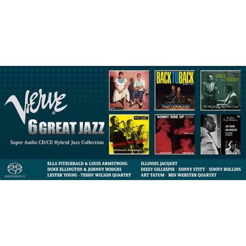 Esoteric Verve 6 Great Jazz Sacd Box Set