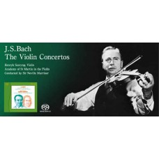 Szeryng Johann Sebastian Bach Violin Concertos SACD