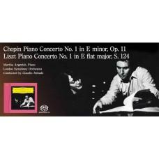 Argerich Chopin Liszt Piano Concertos SACD