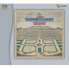 Richter Münchener Bach-Orchester 6 Branderburgische Konzerte 2-SACD Esoteric