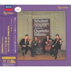 Quartetto Italiano Schubert String Quartets Nos.13 & 14 SACD Esoteric ESSD90170