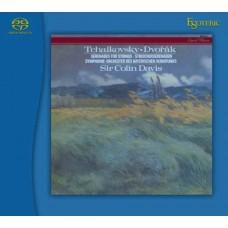 Sir Colin Davis Tchaikovsky Dvorak Serenades for Strings SACD