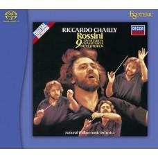 Riccardo Chailly Rossini 9 Overtures SACD Esoteric