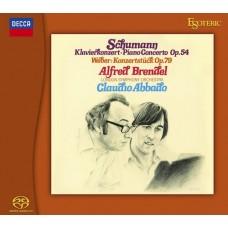 Alfred Brendel Claudio Abbado SCHUMANN GRIEG Piano Concertos SACD Esoteric