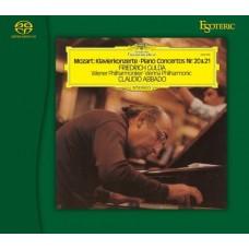 Friedrich Gulda Claudio Abbado Mozart Piano Concertos Nos.20&21 SACD Esoteric