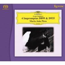 Maria João Pires Franz Schubert Impromptus D.899 & D.935 SACD