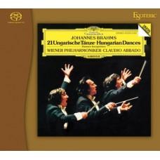Abbado Johannes Brahms 21 Hungarian Dances SACD Esoteric