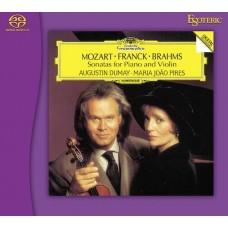 Pires & Dumay Mozart Franck Brahms Sonatas for Piano & Violin SACD Esoteric