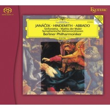 Claudio Abbado Berliner Philharmoniker Janacek / Sinfonietta SACD Esoteric