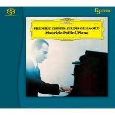 Maurizio Pollini Chopin Études Op.10 & Op.25 SACD Esoteric