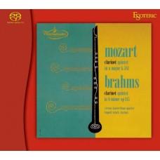 Leopold Wlach Vienna Konzerthaus Quartet Mozart Brahms Clarinet quintet SACD Esoteric