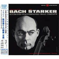 Janos Starker Bach Suites for Unaccompanied Cello Complete 2-SACD + 2-CD Japan