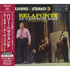 Belafonte at the Carnegie Hall The Complete Concert SACD + CD Japan