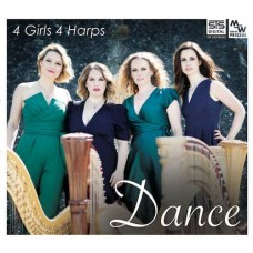 4 Girls 4 Harps Dance CD
