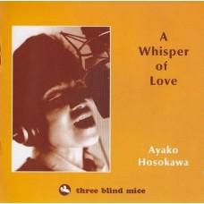 Ayako Hosokawa A Whisper Of Love LP