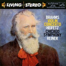 Fritz Reiner Brahms Violin Concerto Jascha Heifetz violin SACD