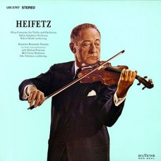 Pfeiffer Chase & Heifetz Rozsa Violin Concerto Benjamin Romantic Fantasy Heifetz violin 3-Channel Stereo SACD
