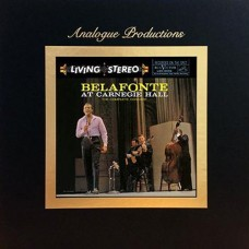 Harry Belafonte Belafonte at Carnegie Hall The Complete Concert 45RPM 5-LP Box Set