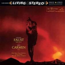 Alexander Gibson Gounod Faust Ballet Music Bizet Carmen Suite LP Vinyl