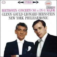 Glenn Gould Leonard Bernstein Beethoven Concerto No.4 In G Major LP