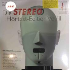Die Stereo Hortest-Edition Vol.III LP +Blu-ray Audio+SACD+DVD-ROM