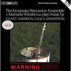 Music for Percussion Ensemble and Flute Manuela Wiesler LP