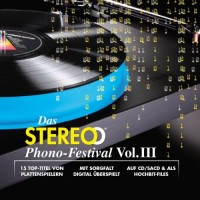 Das Stereo Phono-Festival Vol. III SACD + DVD-Rom