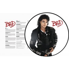 Michael Jackson Bad LP Picture Disc