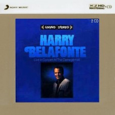 Harry Belafonte Live in Concert At Carnegie Hall K2HD 2-CD