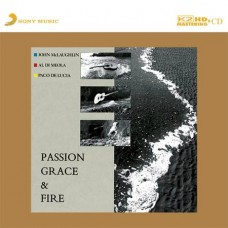John McLaughlin Paco De Lucia & Al Di Meola Passion, Grace & Fire K2HD CD