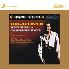 Harry Belafonte Returns To Carnegie Hall K2HD CD